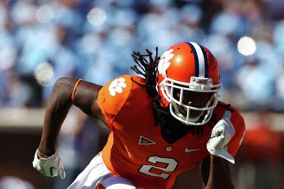 In a draft bursting with talent at wide receiver, Clemson's Sammy Watkins should be the first pass catcher to hear his name called.
