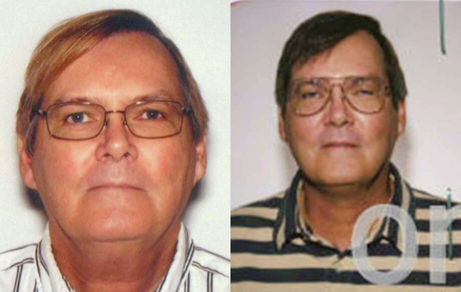 This combination of photos provided by the Federal Bureau of Investigation shows William James Vahey in 2013, left, and 2004. The FBI is asking for help to identify at least 90 victims of Vahey's, a suspected serial child predator who worked in American schools worldwide for four decades. Vahey, 64, killed himself in Luverne, Minn., on March 21. (AP Photo/FBI) Photo: HOPD / Federal Bureau of Investigation