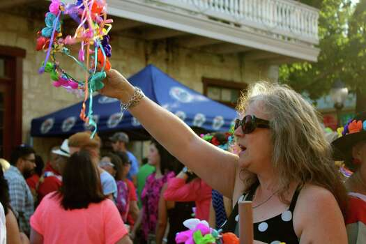 Many enjoyed the live music, great food and more during the first day of A Night in Old San Antonio on Tuesday. Photo: By Yvonne Zamora, For MySA.com