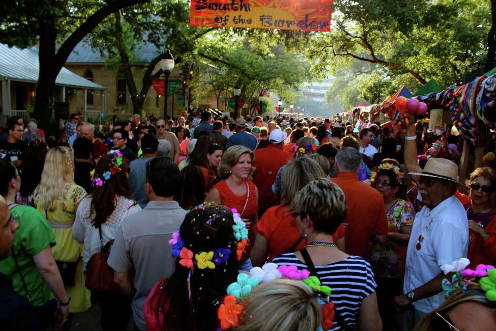 1. People think Fiesta is one of the funnest times in Texas, but they thought wrong.