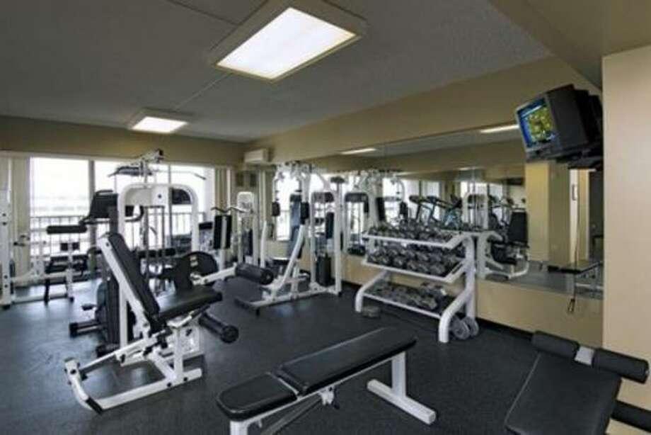 Gym. Photos via Apartment List.com