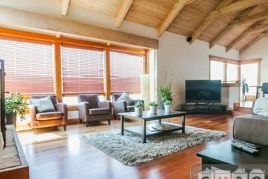 Lovely living room. Photos via Apartment List.com