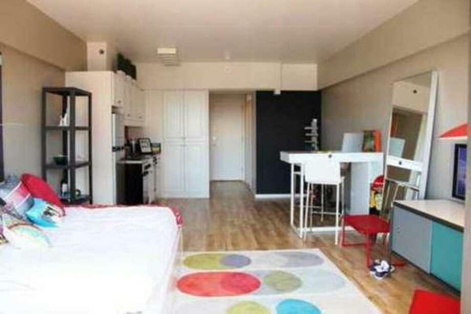 Yep, a studio. Photos via Apartment List.com
