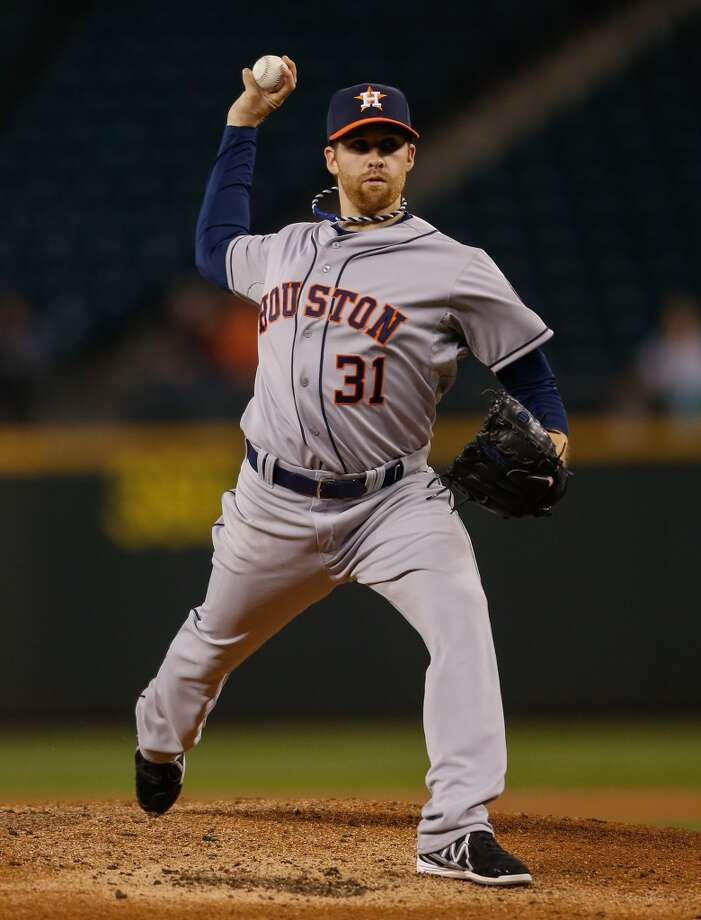 April 22: Astros 5, Mariners 2Starting pitcher Collin McHugh allowed just three hits and struck out 12 batters in 6 2/3 innings on Tuesday night. Photo: Otto Greule Jr, Getty Images