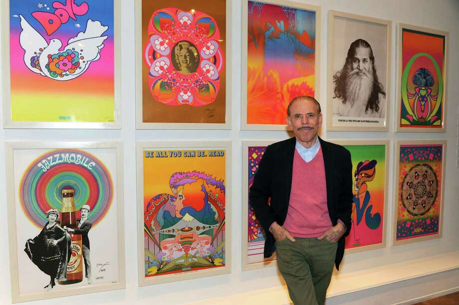 "Peter Max will exhibit a newly curated series entitled ""Marilyn"" at the Geary Gallery, 576 Boston Post Road, Darien. The series is signed by both Max and Joshua Greene, son of Milton Greene, the photographer of Marilyn Monroe. Photo: Contributed Photo, Contributed / Darien News"