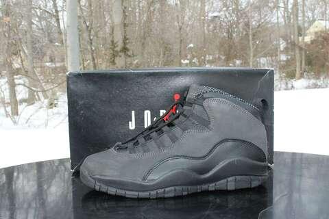d4e6de69046 A pair of OG Jordan Shadow Grey 10 s will be raffled off at the Connecticut  Sneaker
