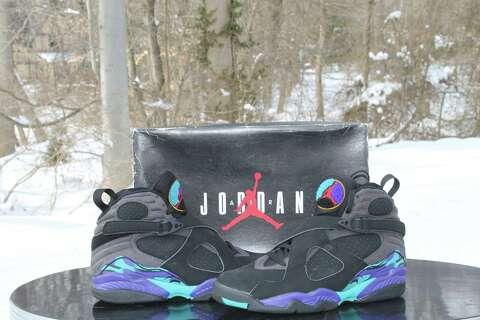 61edb11a992 A pair of OG Jordan Aqua 8 s will be raffled off at the Connecticut Sneaker  Show