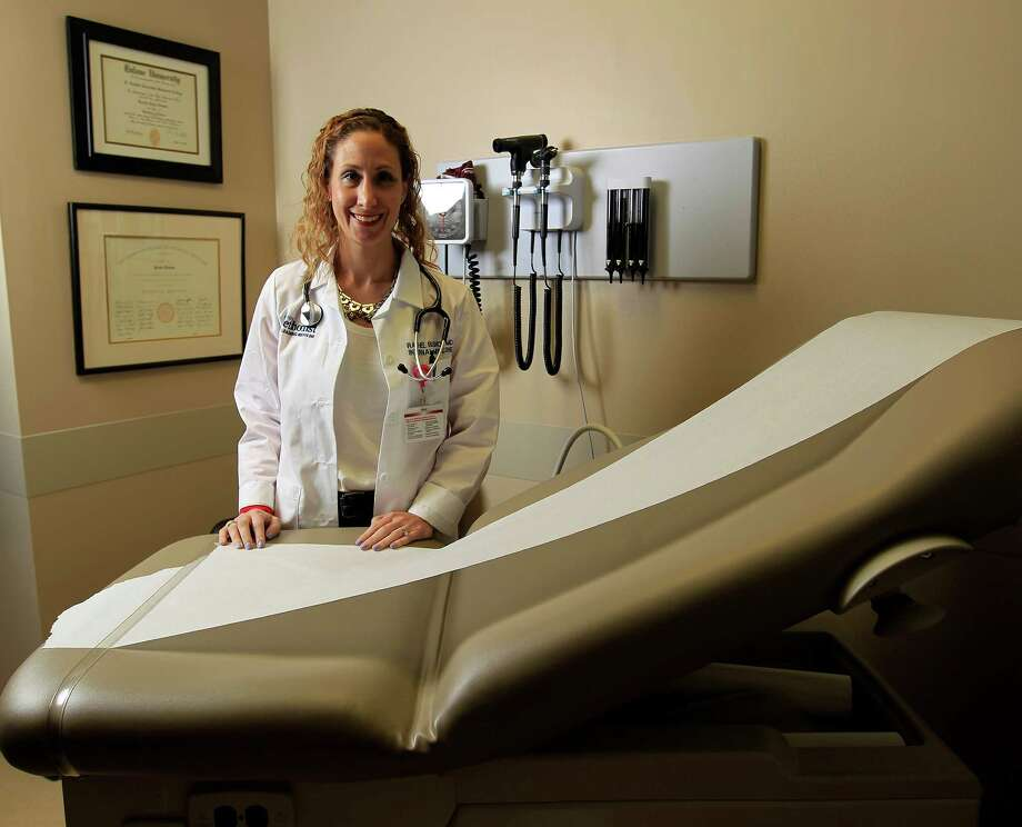 Dr. Rachel Bishop was originally diagnosed with bronchitis. Her condition was later discovered to be gastroparesis, which was treated with gastric bypass surgery. Photo: Karen Warren, Staff / © 2014 Houston Chronicle