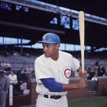 Outfielder Billy Williams, of the Chicago Cubs, poses for a portrait prior to a game in September, 1964 at Wrigley Field in Chicago, Illinois.  (Photo by:  Diamond Images/Getty Images) Photo: Diamond Images, Diamond Images/Getty Images / 1964 Diamond Images