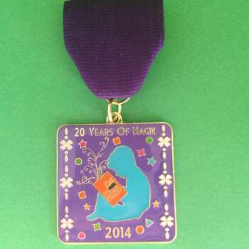 The Magik Theatre's medal celebrates its 20th anniversary. $10 at the box office. Courtesy photo.