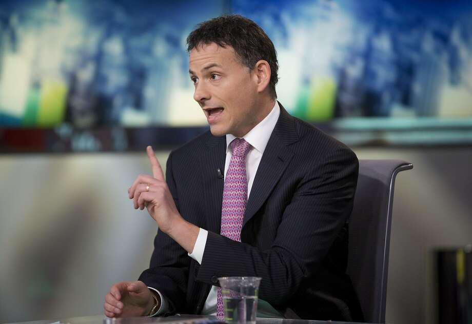 David Einhorn, president and co-founder of Greenlight Capital Inc., speaks during a Bloomberg Television interview in New York, U.S., on Thursday, Feb. 7, 2013. Apple Inc., the world's most valuable technology company, is being urged by Einhorn's Greenlight Capital Inc. to return more of its $137.1 billion in cash to shareholders. Photographer: Scott Eells/Bloomberg *** Local Caption *** David Einhorn Photo: Scott Eells, Bloomberg