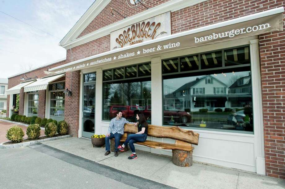 Bareburger restaurant in Ridgefield. Bareburger is in the former Chambers Army & Navy building, at the corner of Route 35 and Grove Street. Tuesday, April 22, 2014 Photo: Scott Mullin / The News-Times Freelance