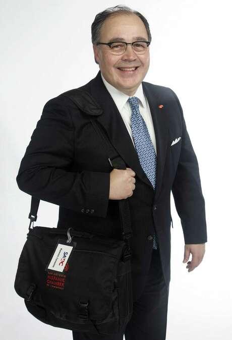 Ramiro Cavazos is the president and CEO of the San Antonio Hispanic Chamber of Commerce. / San Antonio Express-News