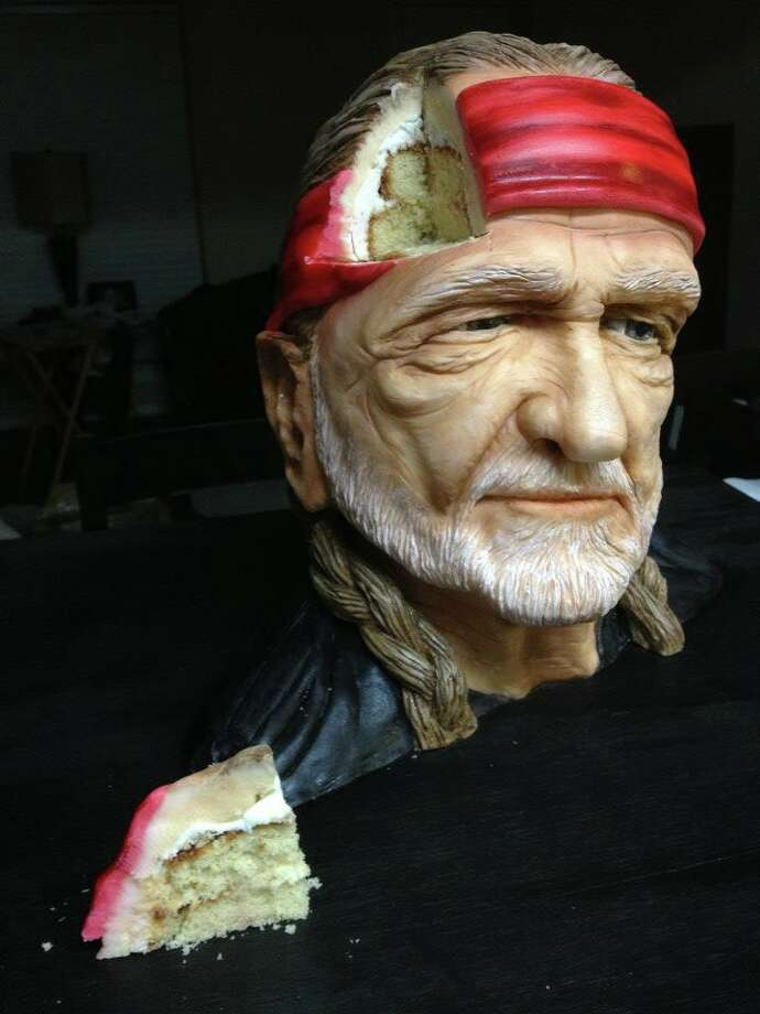 Sideserf's Willie Nelson cake has generated a lot of buzz. Photo: Sideserf Cake Studio