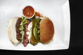 Tortas Ahogados as seen in San Francisco, California on Thursday, March 27, 2014. Food styled by Calvin Rouse, III.