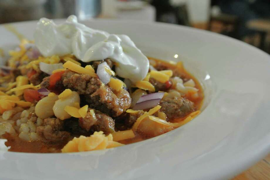 Wild harvested venison is made into chili and enjoyed after a day on hunting in Valley Falls. (Deanna Fox)