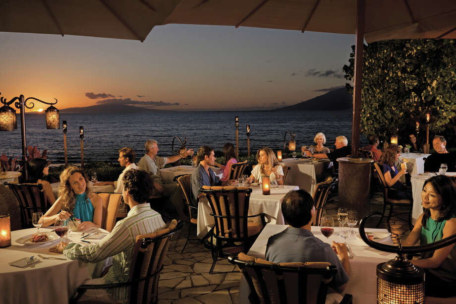 Ferraro's Bar e Ristorante at the Four Seasons Resort Maui, which tied for Best Italian in the 2014 Aipono Awards with Pulehu at Westin Kaanapali Ocean Resort Villas, is also  Wailea's only open-air beachfront restaurant. Photo: Four Seasons Resort Maui  / Don Riddle Images