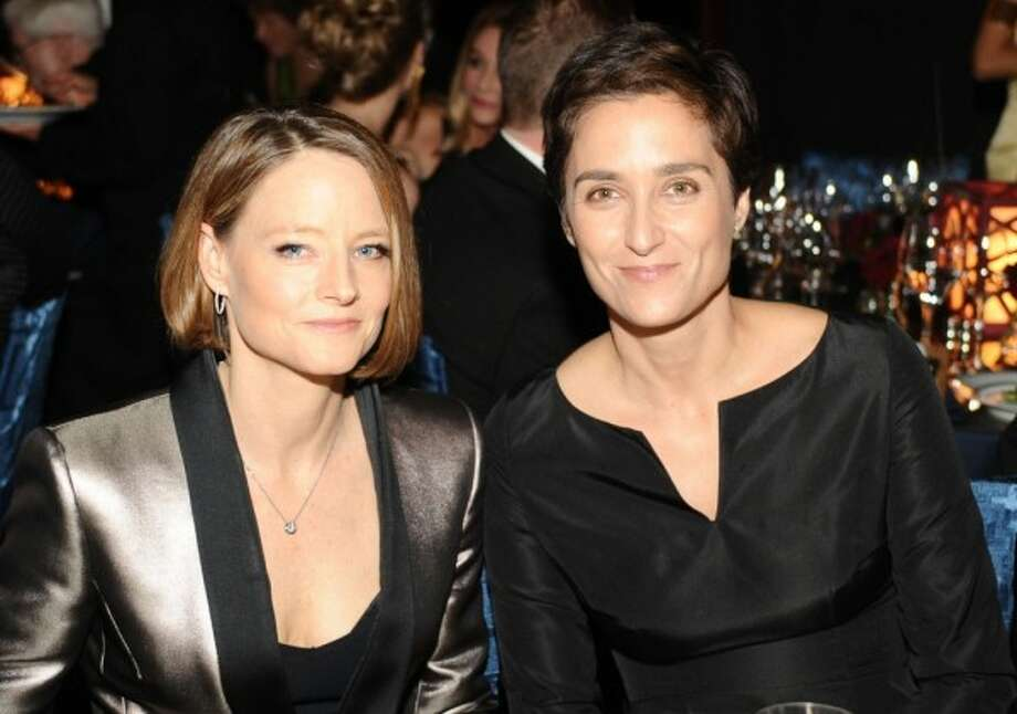 Jodie Foster and Alexandra Hedison. (Photo by Stefanie Keenan/Getty Images for Wallis Annenberg Center for the Performing Arts)