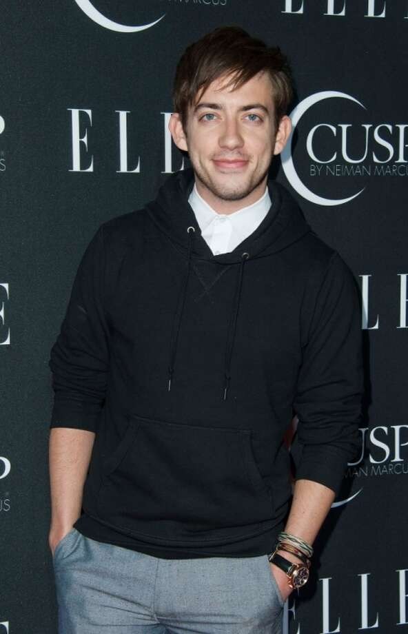 Actor  Kevin McHale arrives at ELLE's 5th Annual Women In Music Concert Celebration Presented by CUSP By Neiman Marcus  at Avalon on April 22, 2014 in Hollywood, California. Photo: Valerie Macon, Getty Images