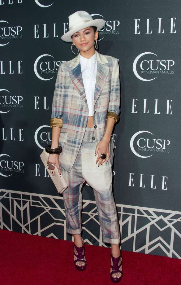 Recording artist Zendaya arrives at ELLE's 5th Annual Women In Music Concert Celebration Presented by CUSP By Neiman Marcus  at Avalon on April 22, 2014 in Hollywood, California. Photo: Valerie Macon, Getty Images