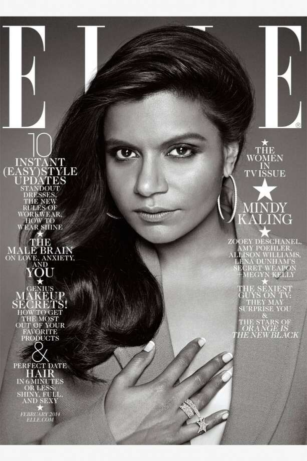 Mindy Kaling, 34More: 2014's World's Most Beautiful List Photo: Carter Smith, Elle Magazine