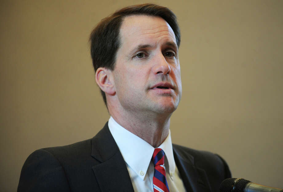 Rep. Jim Himes. The ceremony commemorating the 27th anniversary of the L'Ambiance Plaza collapse at City Hall in Bridgeport, Conn. on Wednesday, April 23, 2014. Photo: Brian A. Pounds / Connecticut Post