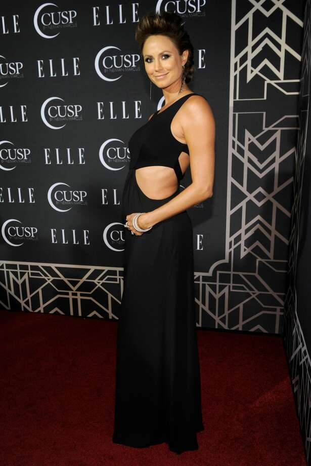 Stacy Keibler arrives at the ELLE 5th annual Women In Music concert celebration at the Avalon Hollywood on Tuesday, April 22, 2014, in Los Angeles. Photo: Chris Pizzello, Associated Press