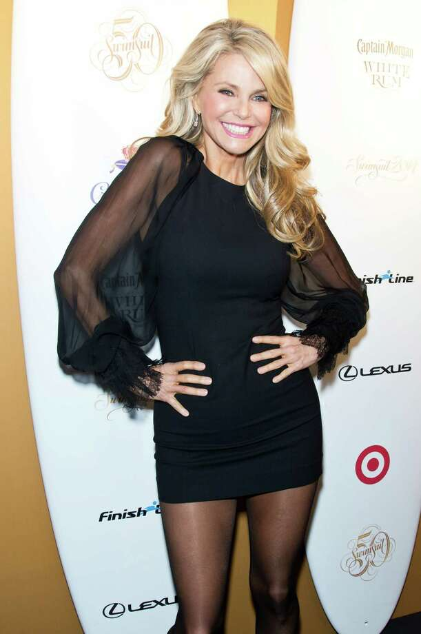 Christie Brinkley attends a Sports Illustrated Swimsuit 50th Anniversary Party on February 18, 2014 in New York City.  Photo: Gilbert Carrasquillo, Getty Images / 2014 Gilbert Carrasquillo