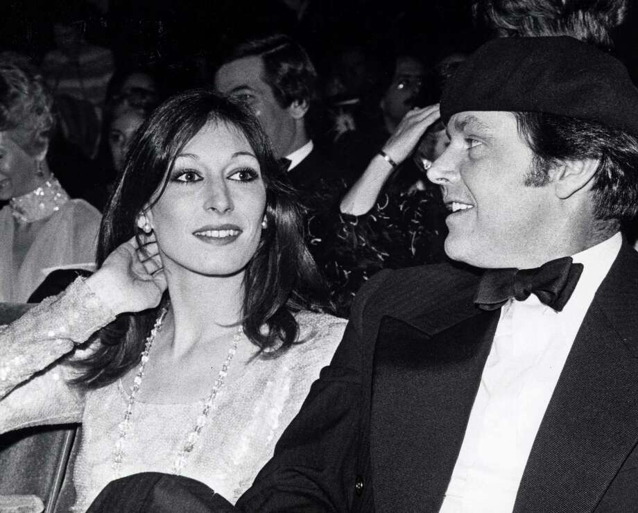 Anjelica Huston was an influential fashion model in the '70s before she became known as an actress.  Photo: Ron Galella, Getty Images / Ron Galella Collection