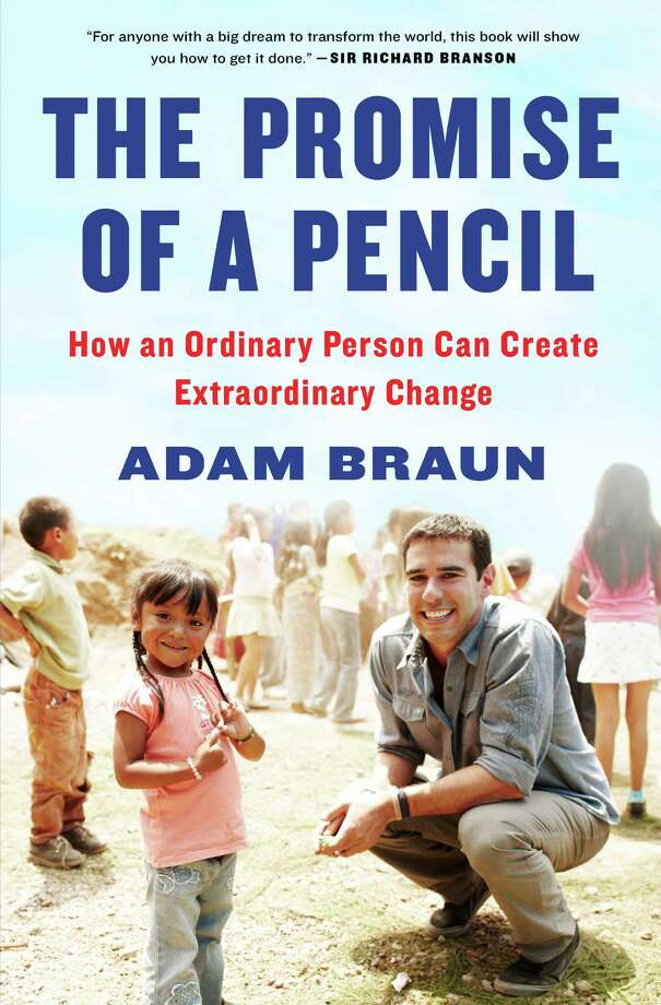 """On Monday, May 5 at 7 p.m., AuthorsLive@GreenwichLibrary will present Adam Braun, Greenwich native and Founder and CEO of Pencils of Promise, an award-winning nonprofit organization that has opened more than 150 schools across Africa, Asia, and Latin America. Braun will be interviewed about his new book, """" The Promise of a Pencil, How an Ordinary Person Can Create Extraordinary Change,"""" by Joan Lunden, journalist, author, and former co-host of ABC's Good Morning America. Photo: Contributed Photo / Greenwich Time Contributed"""