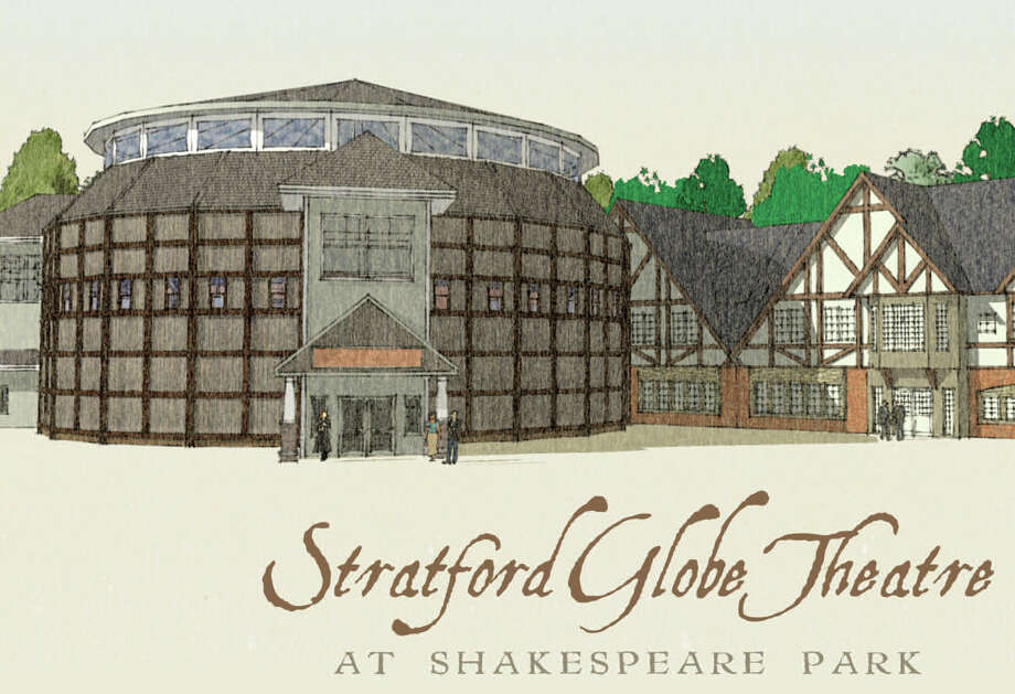 A rendering of the proposed Stratford Globe Theater at Shakespeare Park in Stratford, Conn. includes an annex wing for classrooms. Photo: Contributed Photo / Connecticut Post Contributed