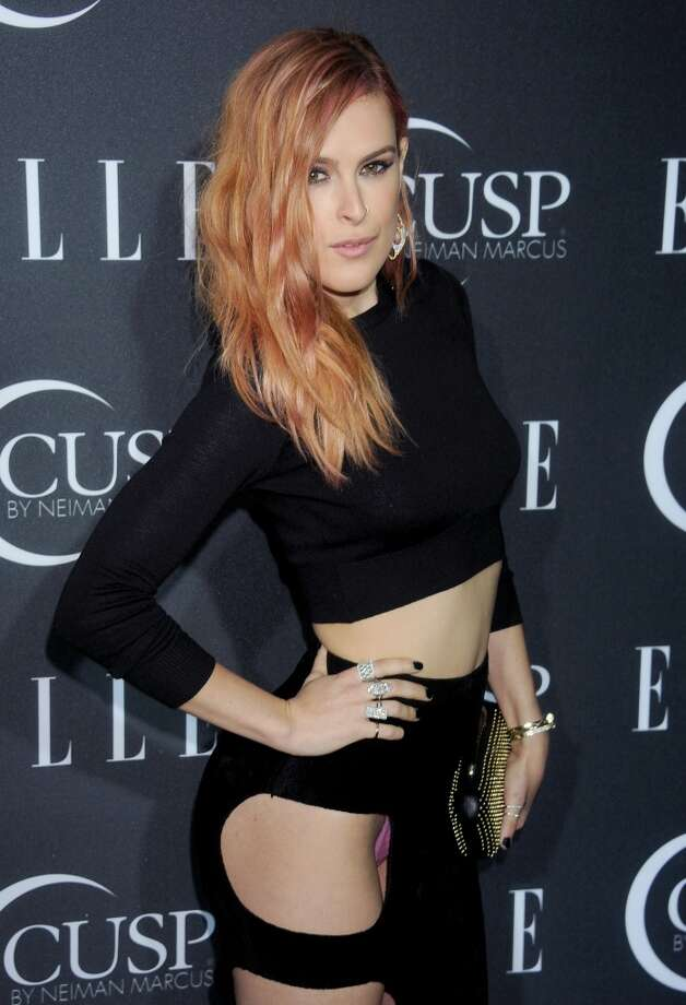 Actress Rumer Willis arrives at ELLE's 5th Annual Women In Music concert celebration at Avalon on April 22, 2014 in Hollywood, California. Photo: Gregg DeGuire, WireImage