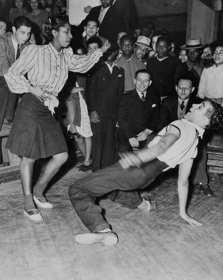 A jitterbug dance contest at the Shrine Auditorium in Los Angeles in 1939 captures one of the many manifestations of 20th century youth culture. Photo: Courtesy Of Everett Collection, CPL Archives