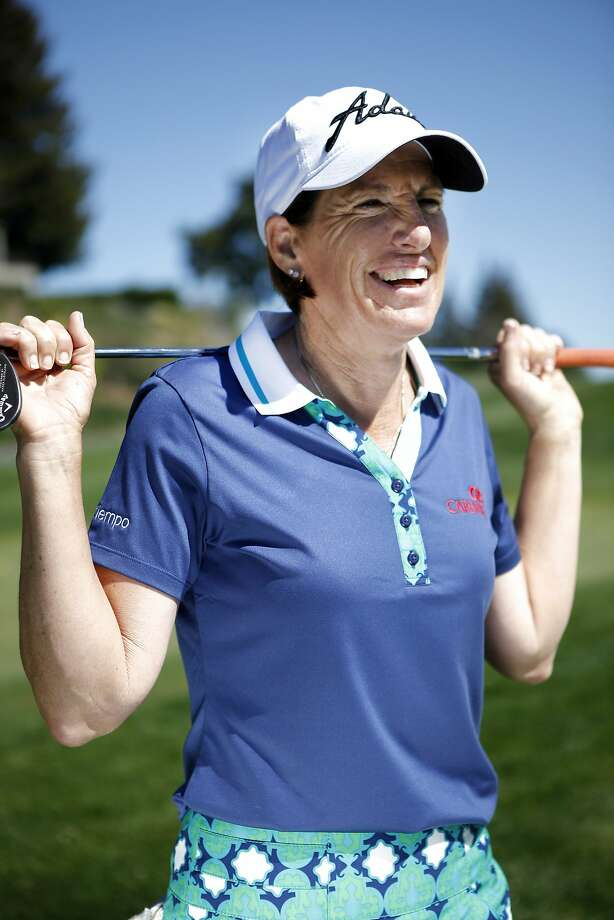 Hall of Famer Juli Inkster is also an on-course analyst with the Golf Channel. Photo: Michael Short, The Chronicle