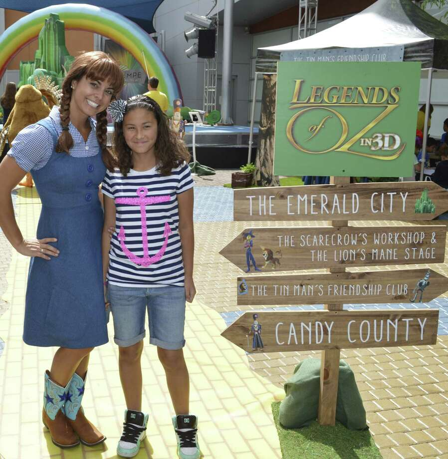 Dorothy, Toto and their new friend Wiser the Owl from the upcoming 3D animated film 'Ç£Legends of Oz: Dorothy'ÇÖs Return'Ç¥ will make a stop at the Fiesta carnival on their nationwide tour.