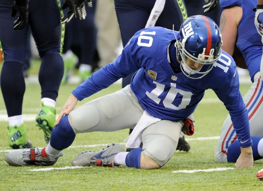 Sept. 21 -- at New York Giants Time: Noon TV: CBS Photo: Bill Kostroun, Associated Press
