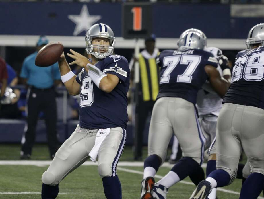 Oct. 5 -- at Dallas Cowboys Time: Noon TV: CBS Photo: LM Otero, Associated Press