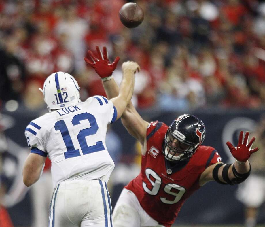 Oct. 9 -- Indianapolis Colts (Thursday) Time: 7:25 p.m. TV: CBS Photo: Brett Coomer, Houston Chronicle