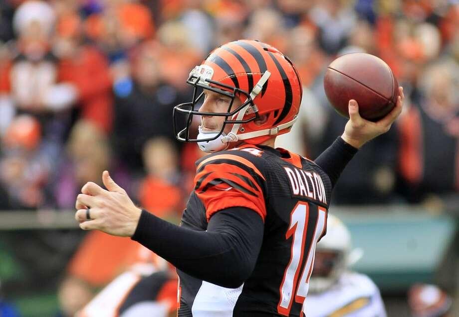 Nov. 23 -- Cincinnati Bengals Time: Noon TV: CBS Photo: Tom Uhlman, Associated Press