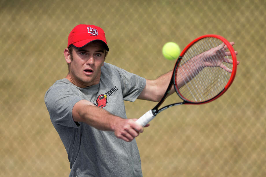 Lamar freshman Jeandre Hoogenboezem of South Africa enters the Southland Conference tournament as the Cardinals' hottest singles player, having won four consecutive matches. Courtesy of LU Athletics