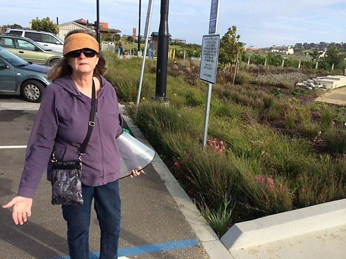 Mary Ann Hoffman, at Heron's Head Park in San Francisco, is exasperated at the increase of rats in the park. Officials blame the drought for the rise in the number of vermin.