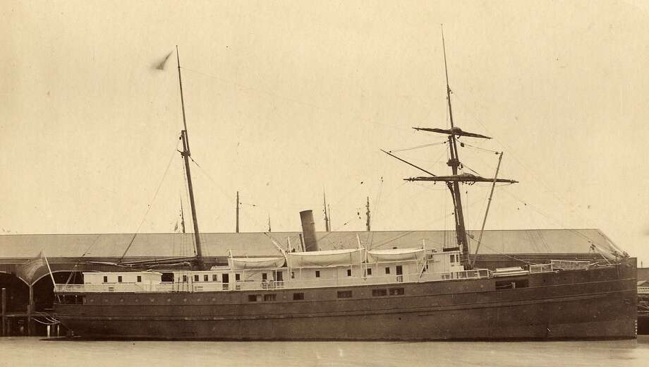 The City of Chester, which sank in 1888, was found in the bay. Photo: Handout, San Francisco Maritime RMS Ocean
