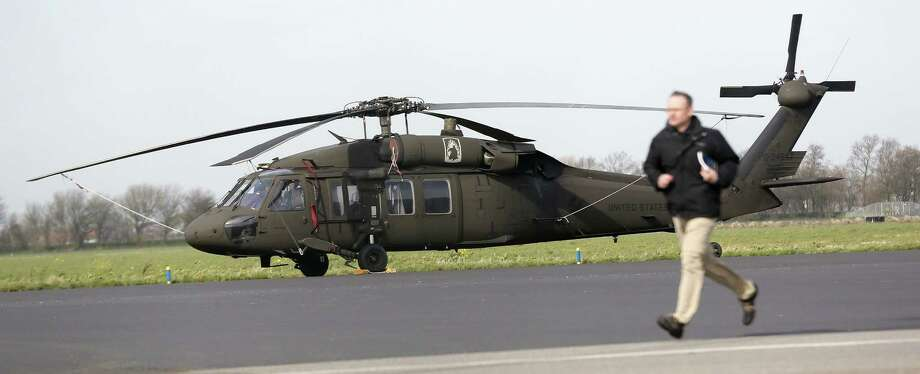 The Pentagon said selling the helicopters to Mexico will aid U.S. security. Photo: Bas Czerwinski / AFP / Getty Images / AFP