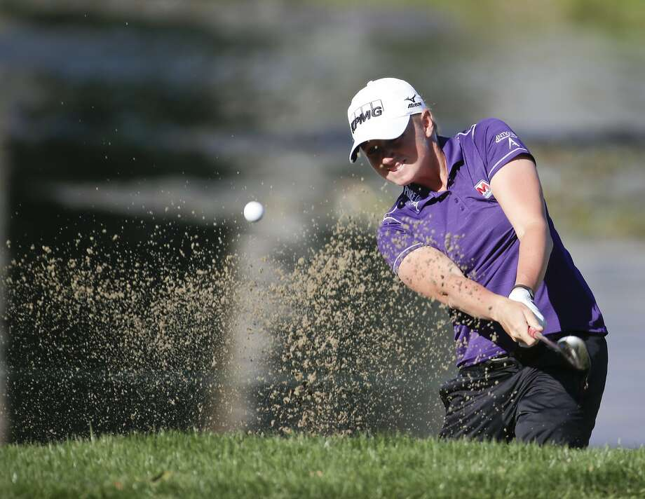 Stacy Lewis, ranked No. 3 in the world, has no Northern California connections, but she wants an annual tournament here. Photo: Chris Carlson, Associated Press