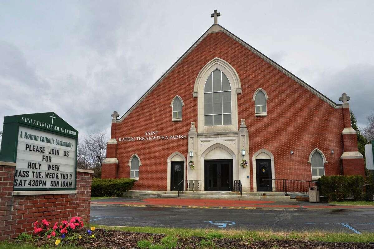 St. Kateri Tekakwitha Parish on Union Street Wednesday April 23, 2014, in Niskayuna, NY. (John Carl D'Annibale / Times Union)