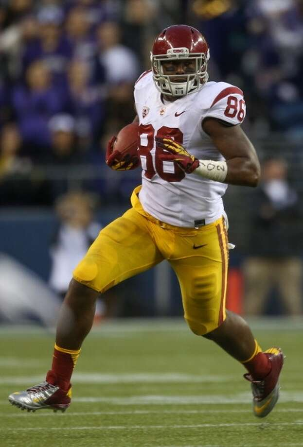 Best of the rest  Xavier Grimble, 6-4, 257, Southern California Photo: Otto Greule Jr., Getty Images