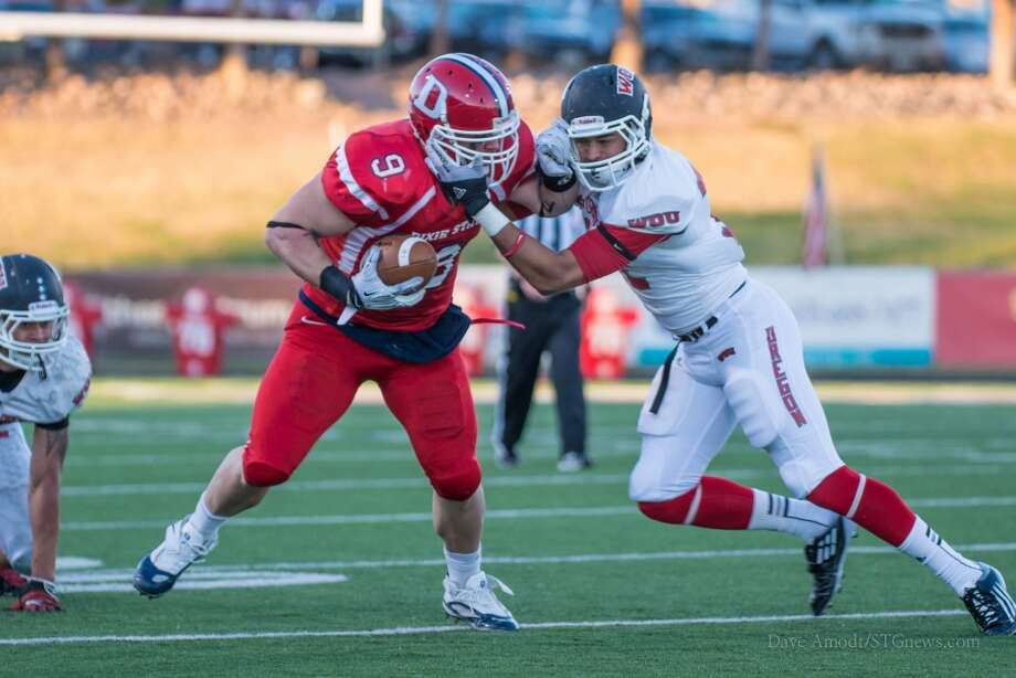 Sleeper  Joe Jon Duncan, 6-4, 270, Dixie State  The brief home of longtime NFL runner Corey Dillon could produce another draftee in the little-known Duncan. He lacks height but has the overall size and speed required at the next level. Photo: Dixie State Athletics