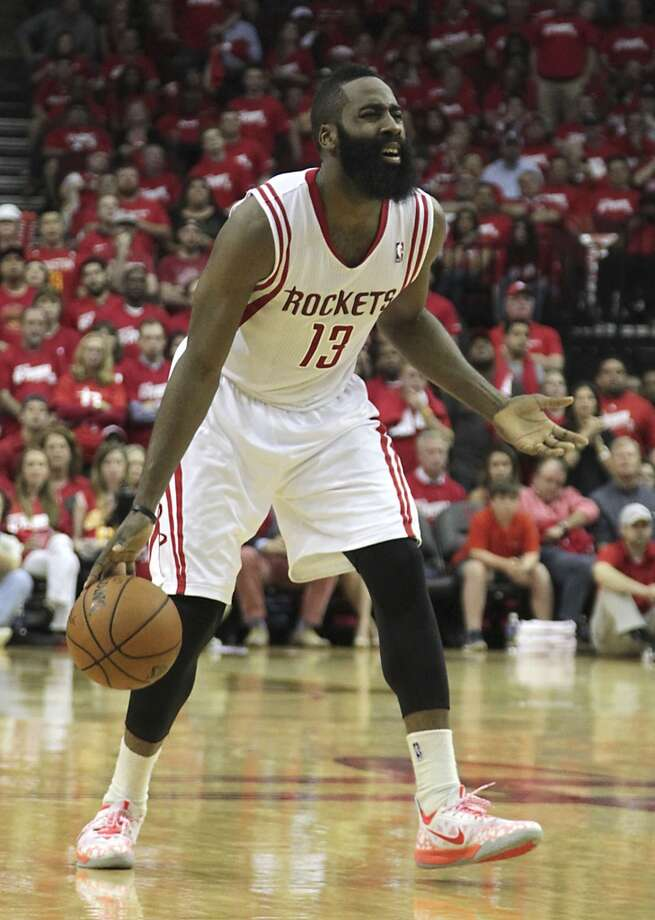 Rockets guard James Harden. Photo: James Nielsen, Houston Chronicle