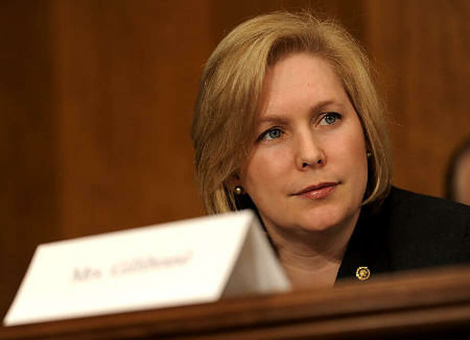 Sen. Kirsten Gillibrand has been named to Time Magazine's '100 Most Influential' list. Click through to see other notable names. Photo: Walsh/AP
