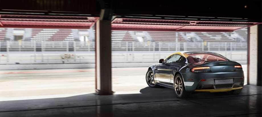 The new Aston Martin V8 Vantage GT Photo: Newspress USA